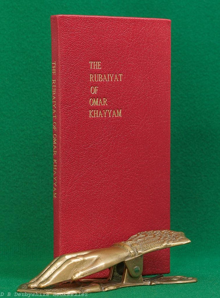 Rubaiyat of Omar Khayyam | T. N. Foulis, [1907] | Envelope Book | Leather Binding