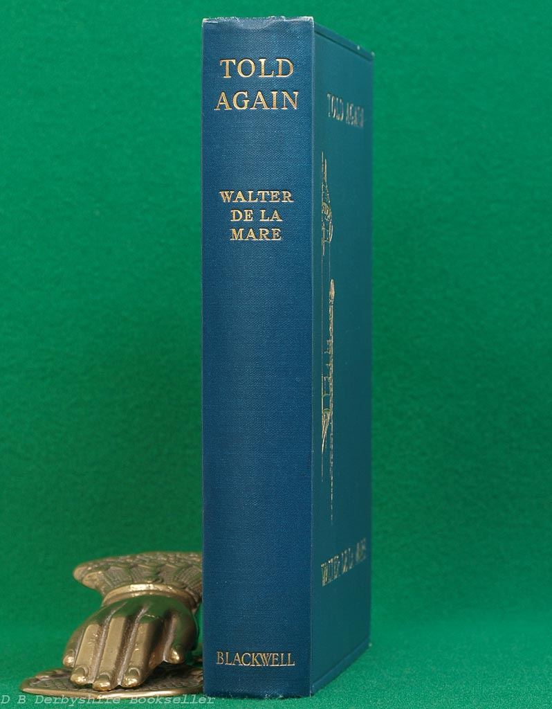 Told Again | Traditional Tales Told by Walter de la Mare | Blackwell, 1927 | Decorative Binding