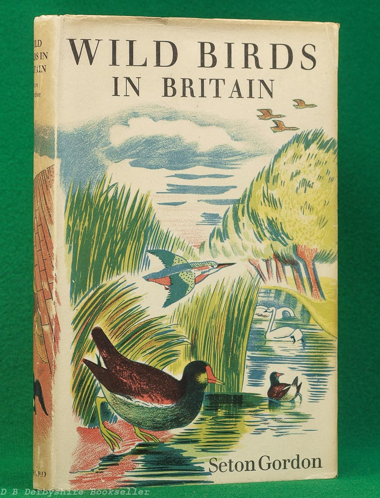 Wild Birds in Britain (Batsford, third edition 1949) | Jacket design by John Nash