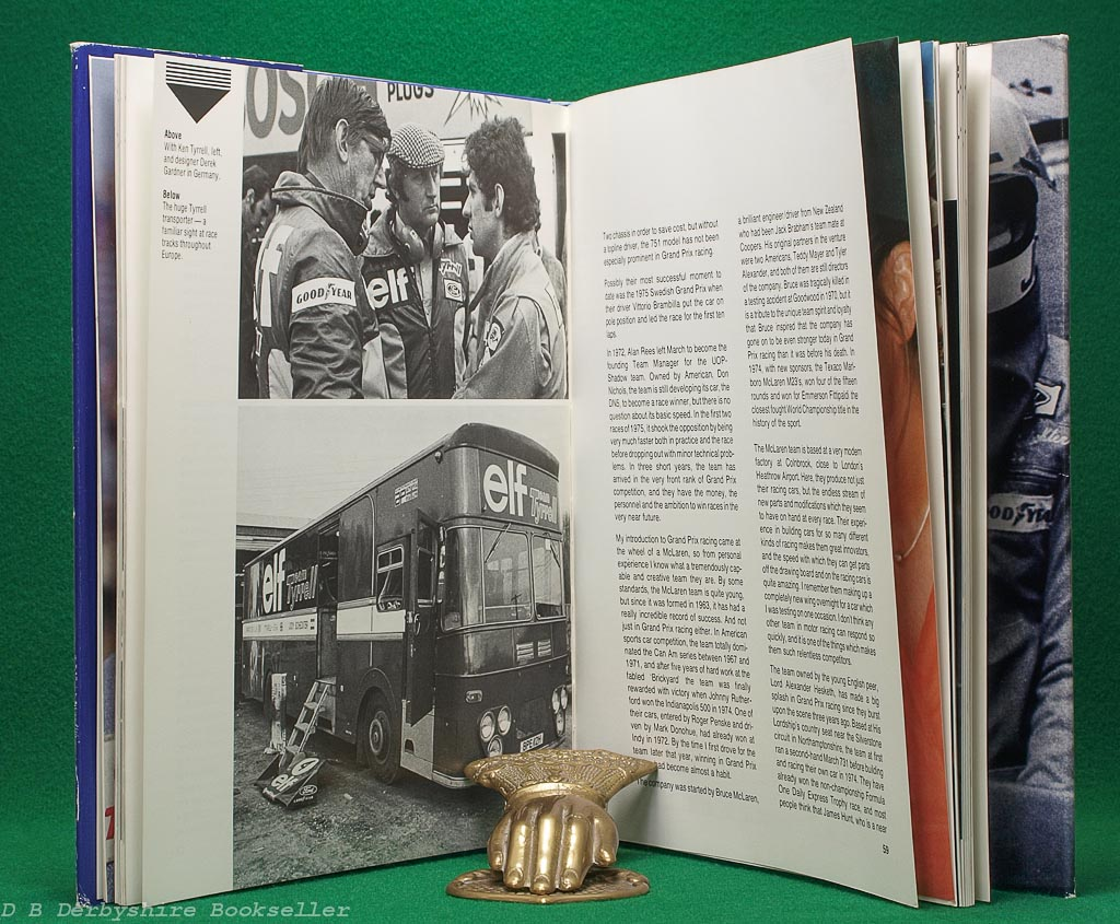 Jody | An Autobiography | Jody Scheckter | Haynes/Foulis, 1st edition 1976
