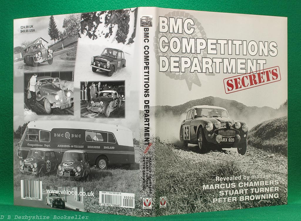 BMC Competitions Department Secrets | Marcus Chambers | Stuart Turner | Peter Browning | Signed Limited Edition