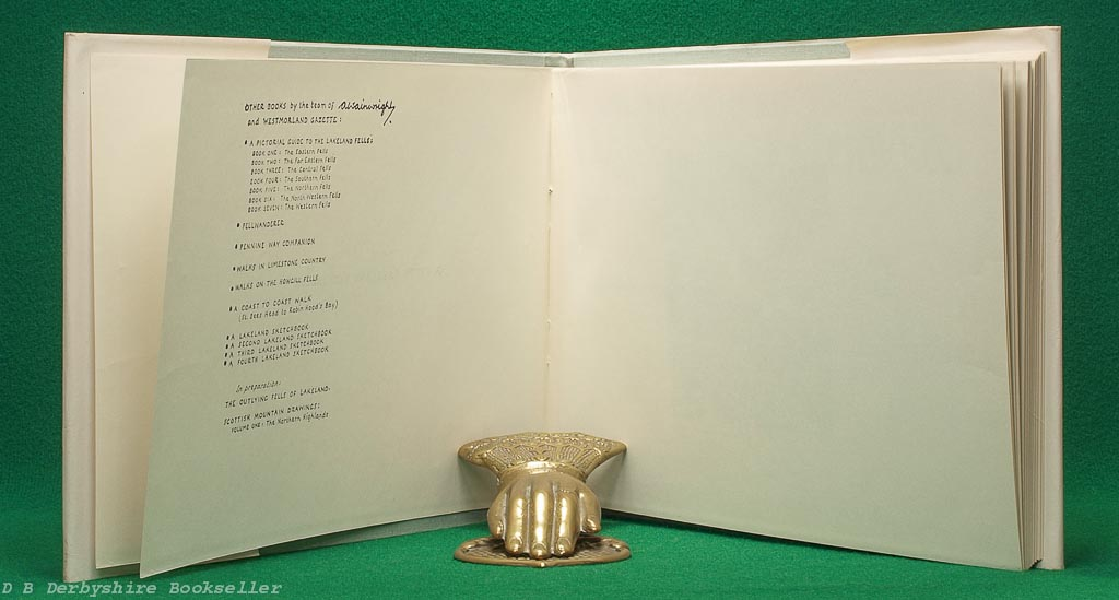 A Fifth Lakeland Sketchbook | A. Wainwright | Westmorland Gazette, 1st edition [1973]