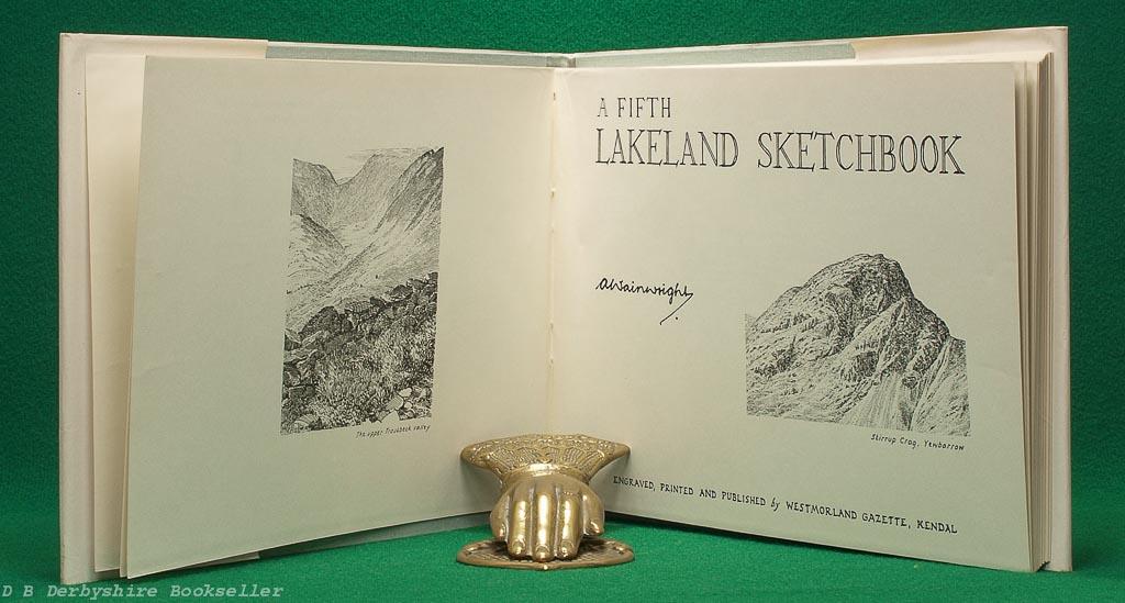 A Fifth Lakeland Sketchbook   A. Wainwright   Westmorland Gazette, 1st edition [1973]