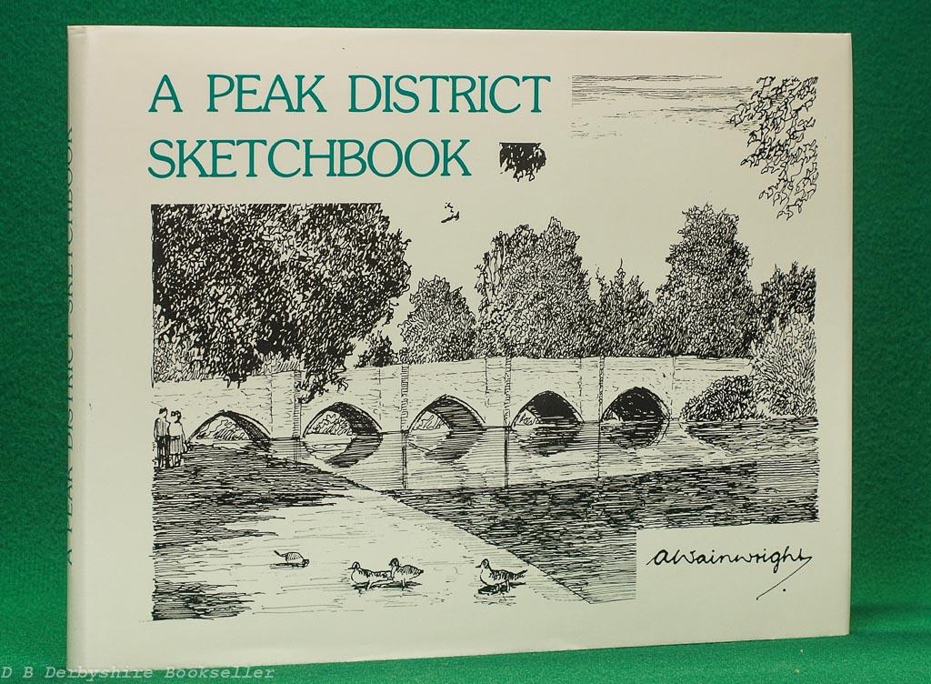 A Peak District Sketchbook   A. Wainwright   Westmorland Gazette, [reprint] circa 1980s/90s