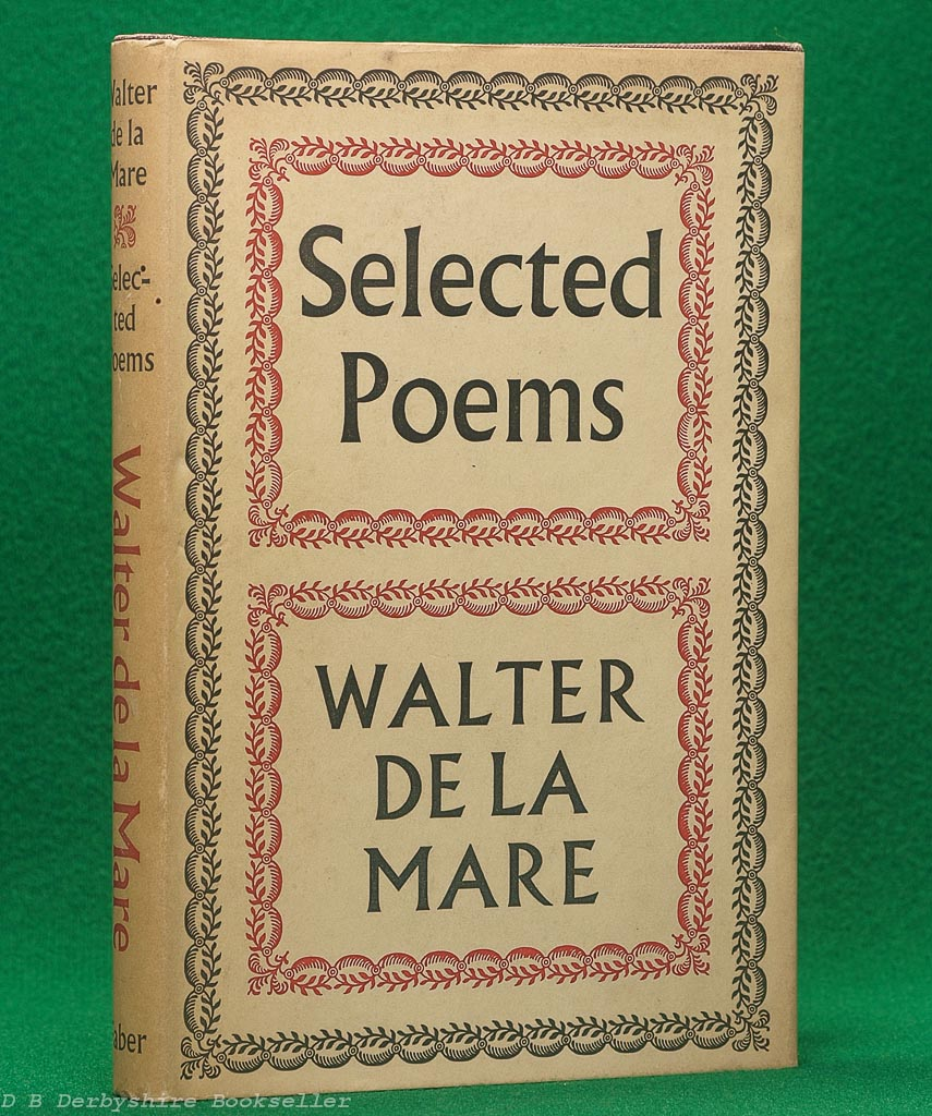Selected Poems | Walter de la Mare | Faber, 1954