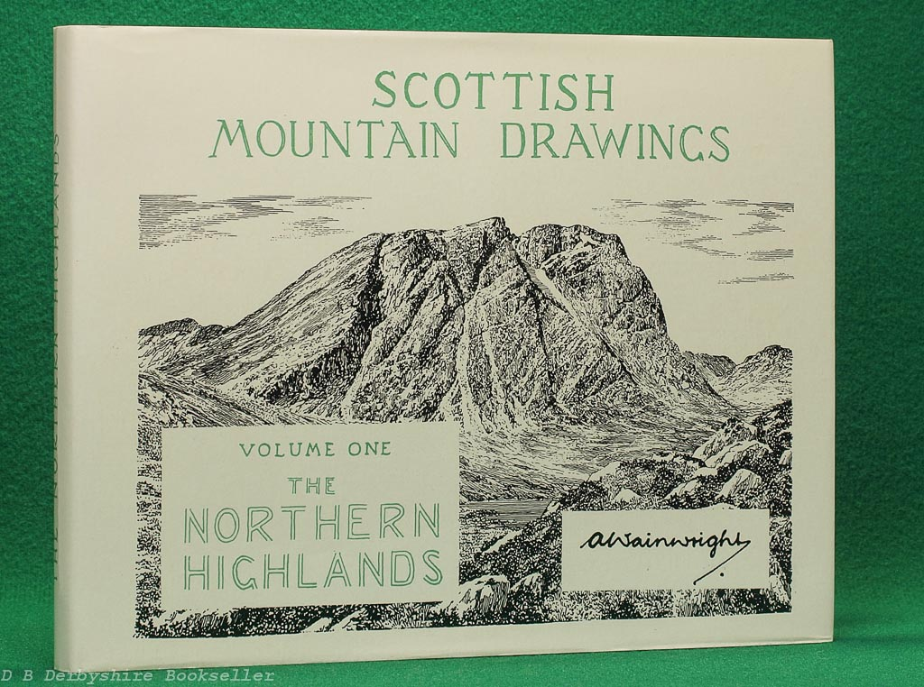 Scottish Mountain Drawings   Volume One - The Northern Highlands   A. Wainwright   Westmorland Gazette, [reprint] circa 1980s/90s