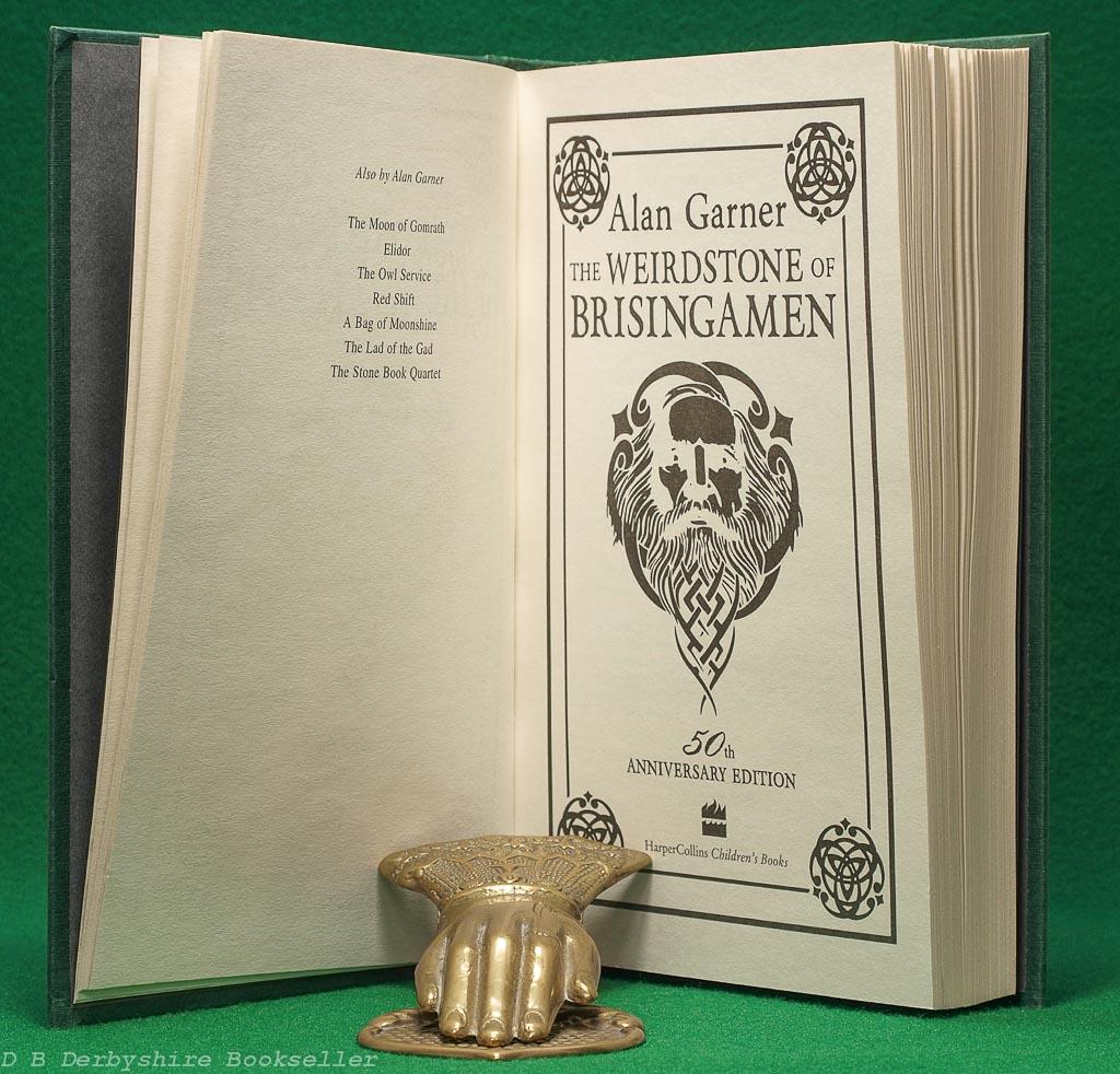 The Weirdstone of Brisingamen | Alan Garner | HarperCollins, 2010 | 50th Anniversary Edition