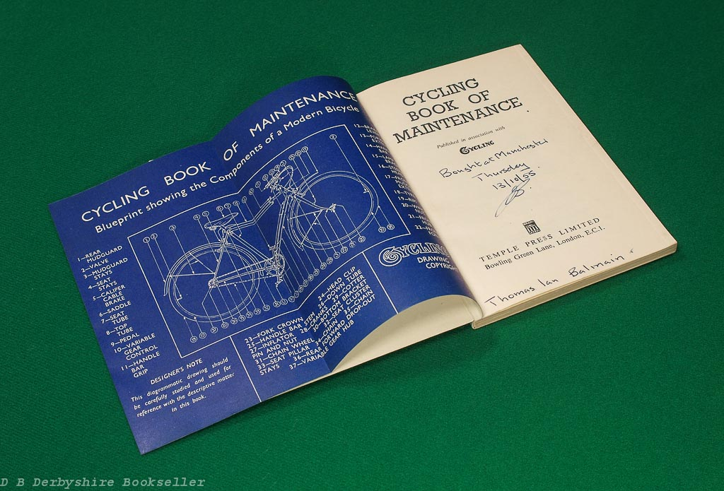 Cycling Book of Maintenance | Temple Press, 1954 | published in association with 'Cycling'