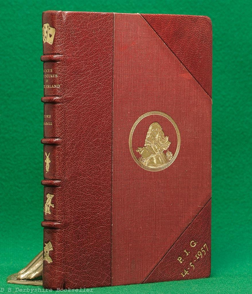 Alice in Wonderland by Lewis Carroll (Macmillan, 1953) Bound by Zaehnsdorf