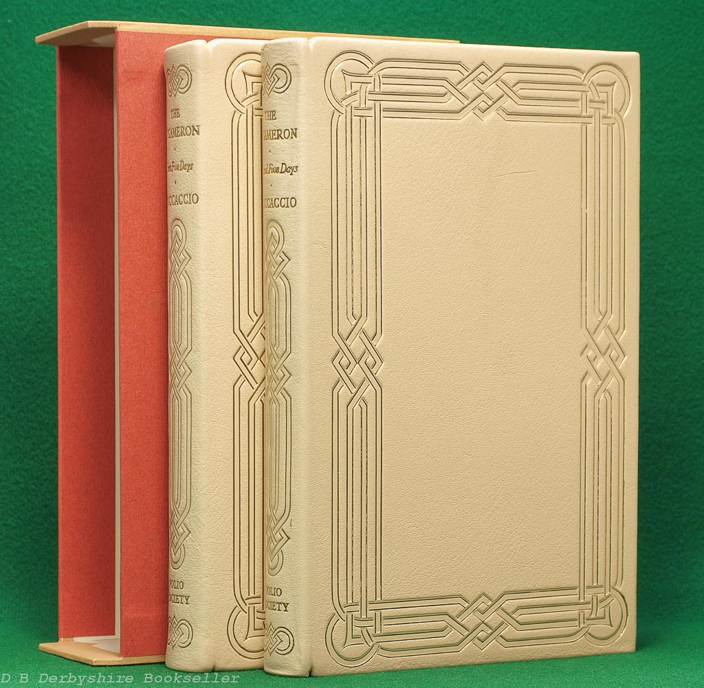 The Decameron | Folio Society, 1969 | Leather | Special Binding