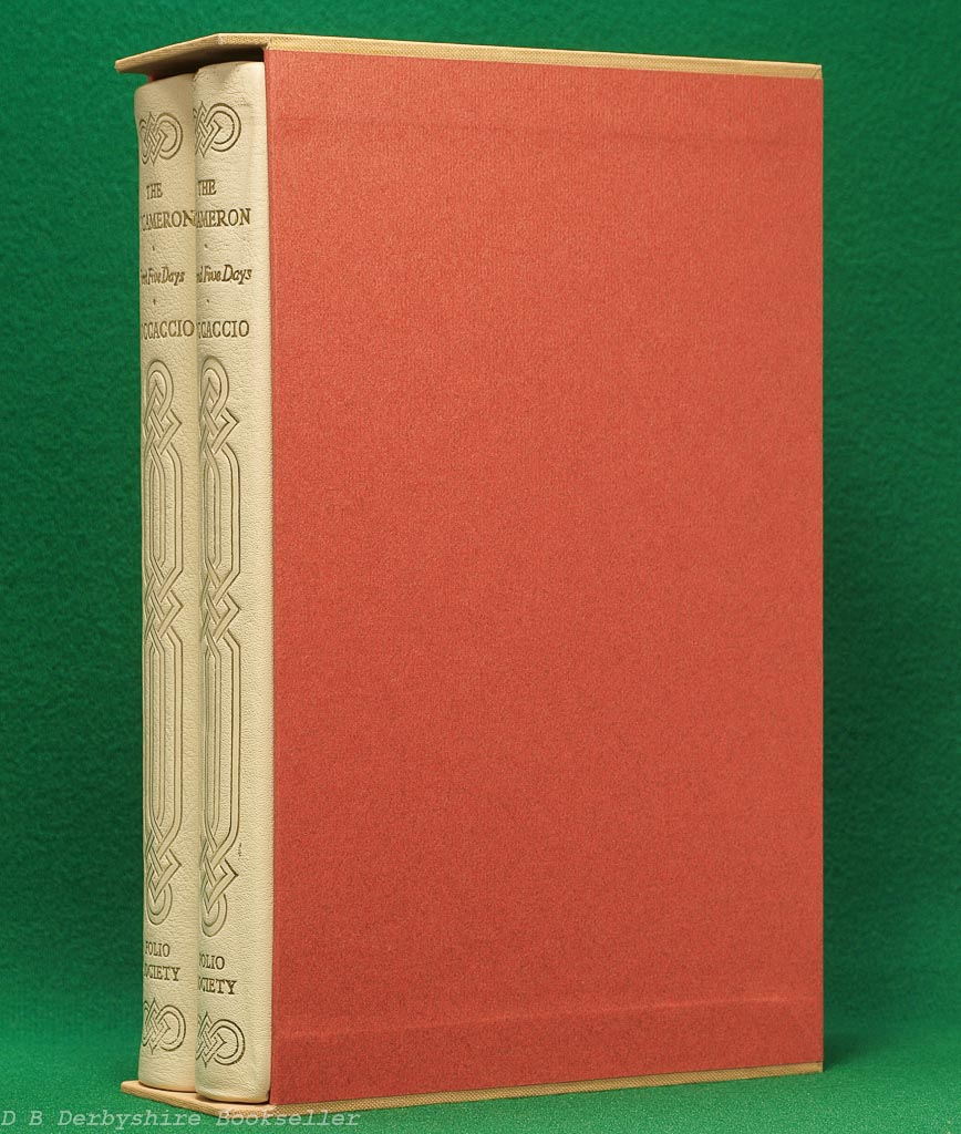 The Decameron | The Folio Society, 1969 | Two Volumes | Full Leather Binding