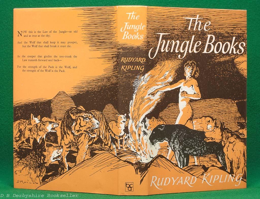 The Jungle Books by Rudyard Kipling (BCA, 1975) | illustrated by Stuart Tresilian