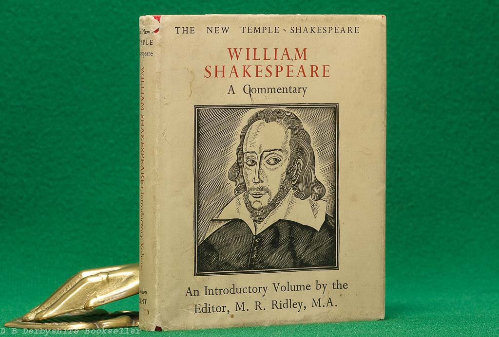William Shakespeare A Commentary (J. M. Dent, 1936) | Eric Gill