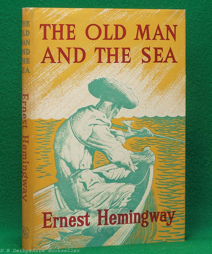 The Old Man and the Sea by Ernest Hemingway (The Reprint Society, 1953) | Illustrated Edition
