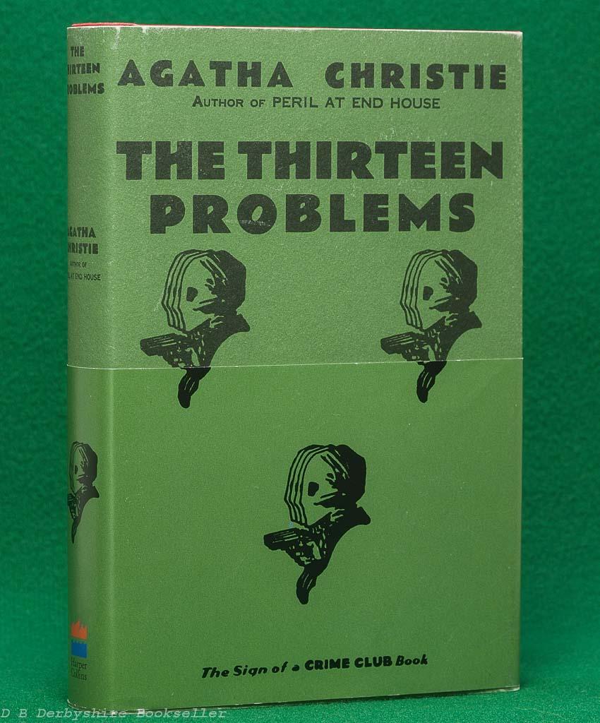 The Thirteen Problems | Agatha Christie | Harper Collins, 2005 | facsimile edition