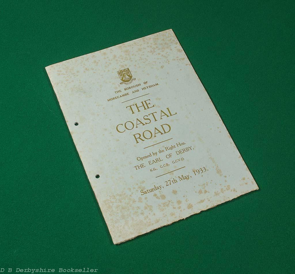 Coastal Road | Morecambe to Bolton-le-Sands | 1933 Brochure