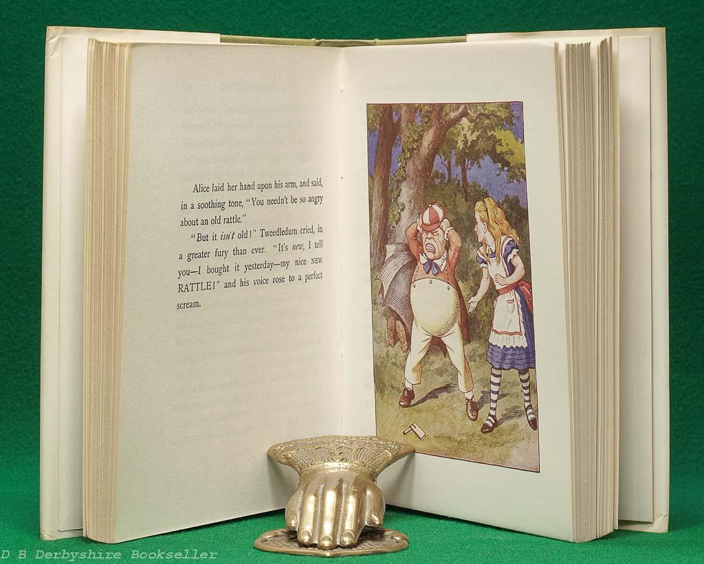 Through the Looking-Glass   Lewis Carroll   Macmillan, reprint 1978   Children's Edition
