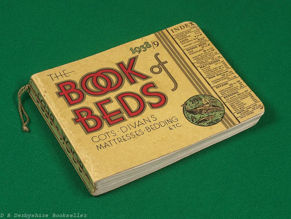 The Book of Beds | 1938 Trade Catalogue | Atlas Works, Birmingham