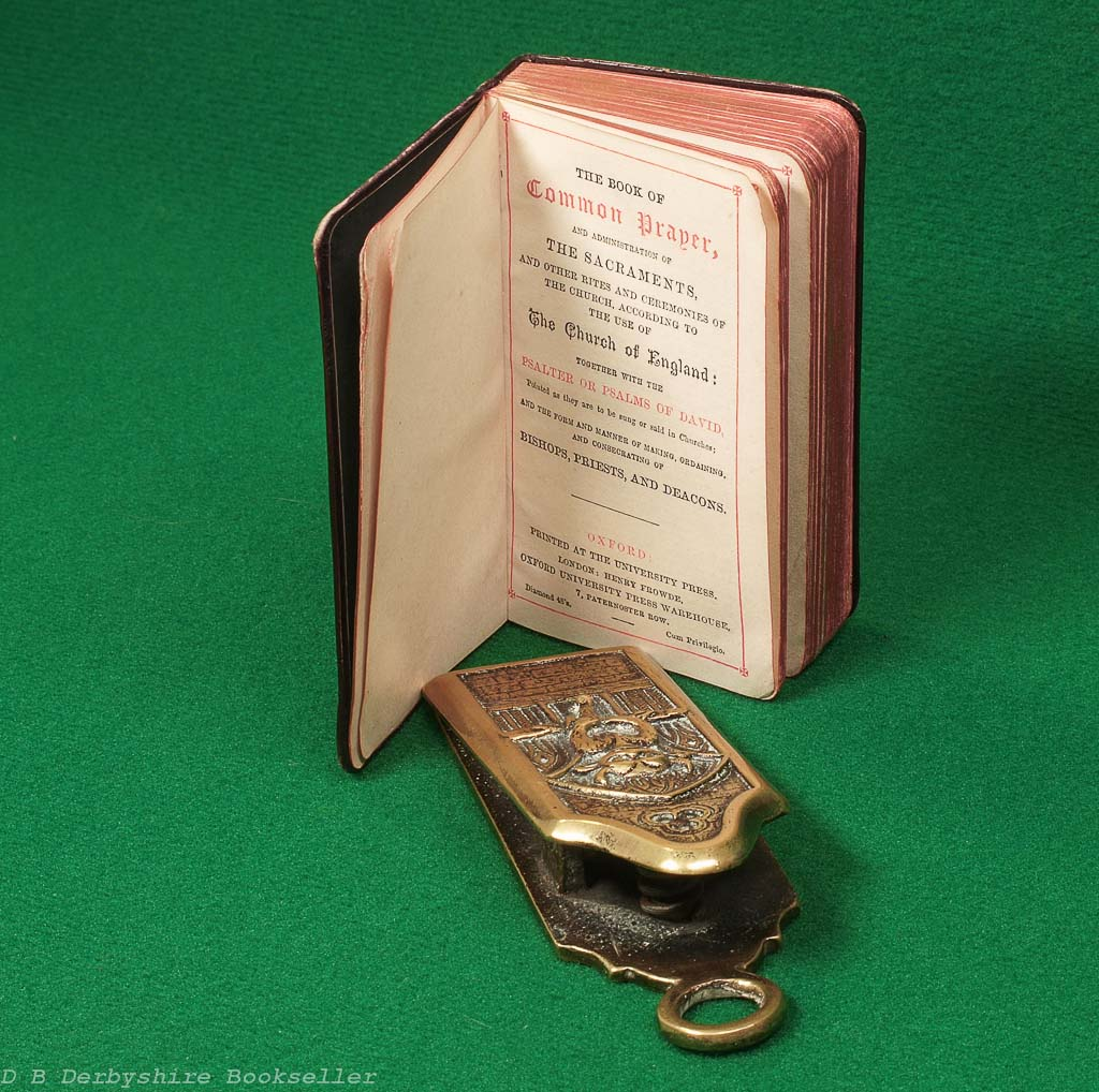 Hymns and Common Prayer | Henry Frowde | Oxford University Press | William Clowes | two volumes in case | circa 1888