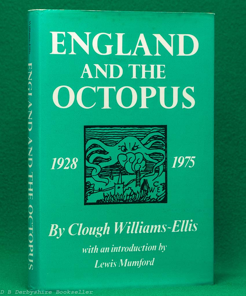 England and the Octopus by Clough Williams-Ellis | New Edition 1975