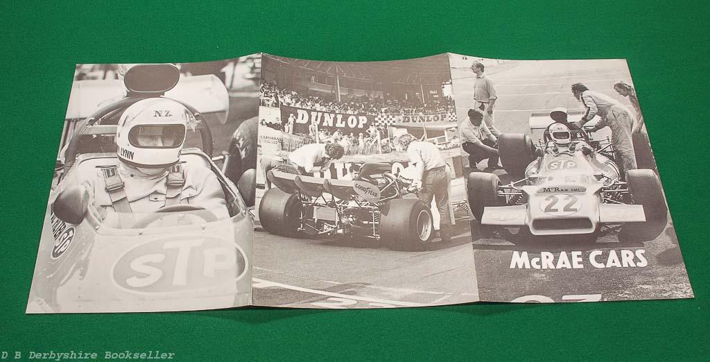 McRae Cars | GM1 Promotional Publication | circa 1972 1973 | New Zealand | F5000 | Tasman