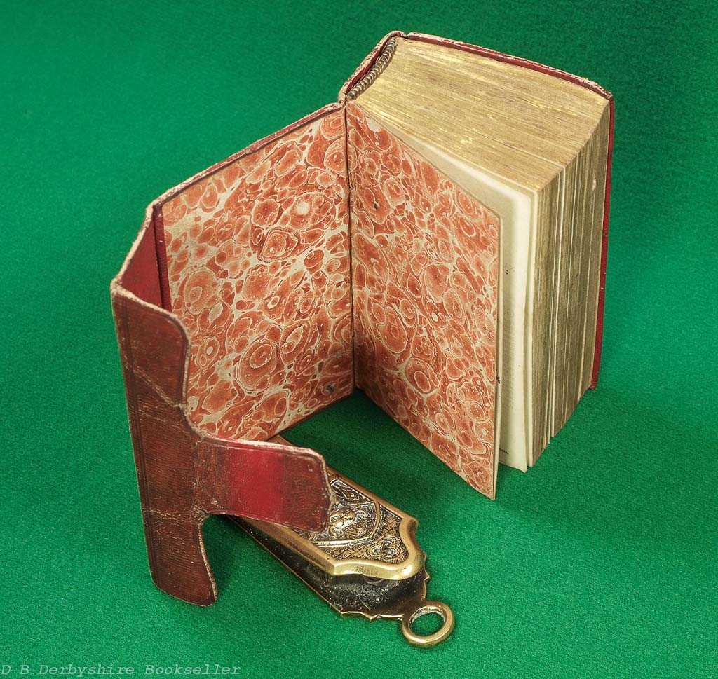 Holy Bible   Oxford: printed by Bensley and Cooke, 1810   Leather Pocket Bible