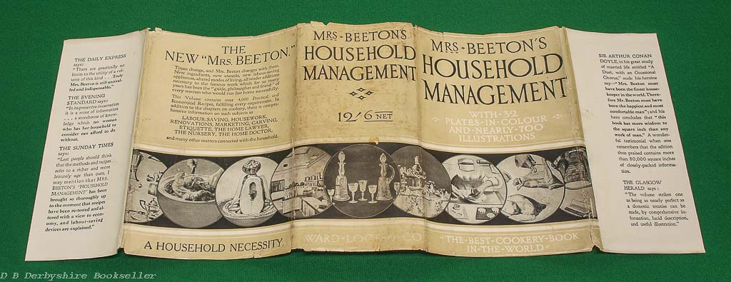 Mrs Beeton's Household Management | Ward, Lock & Co. Limited, New Edition circa 1920s/30s | A Complete Cookery Book