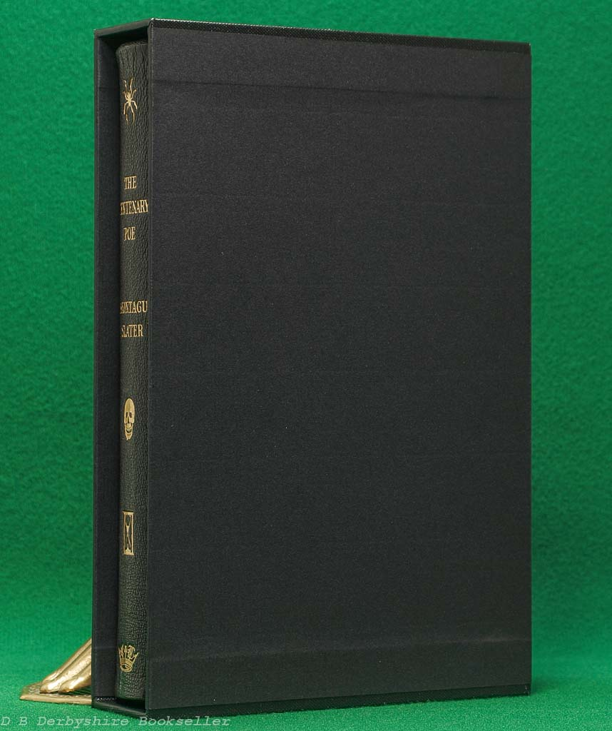 The Centenary Poe | edited by Montagu Slater | Theodore Brun/Bodley Head, 1949 | Limited Edition | Full Leather Binding in Slipcase