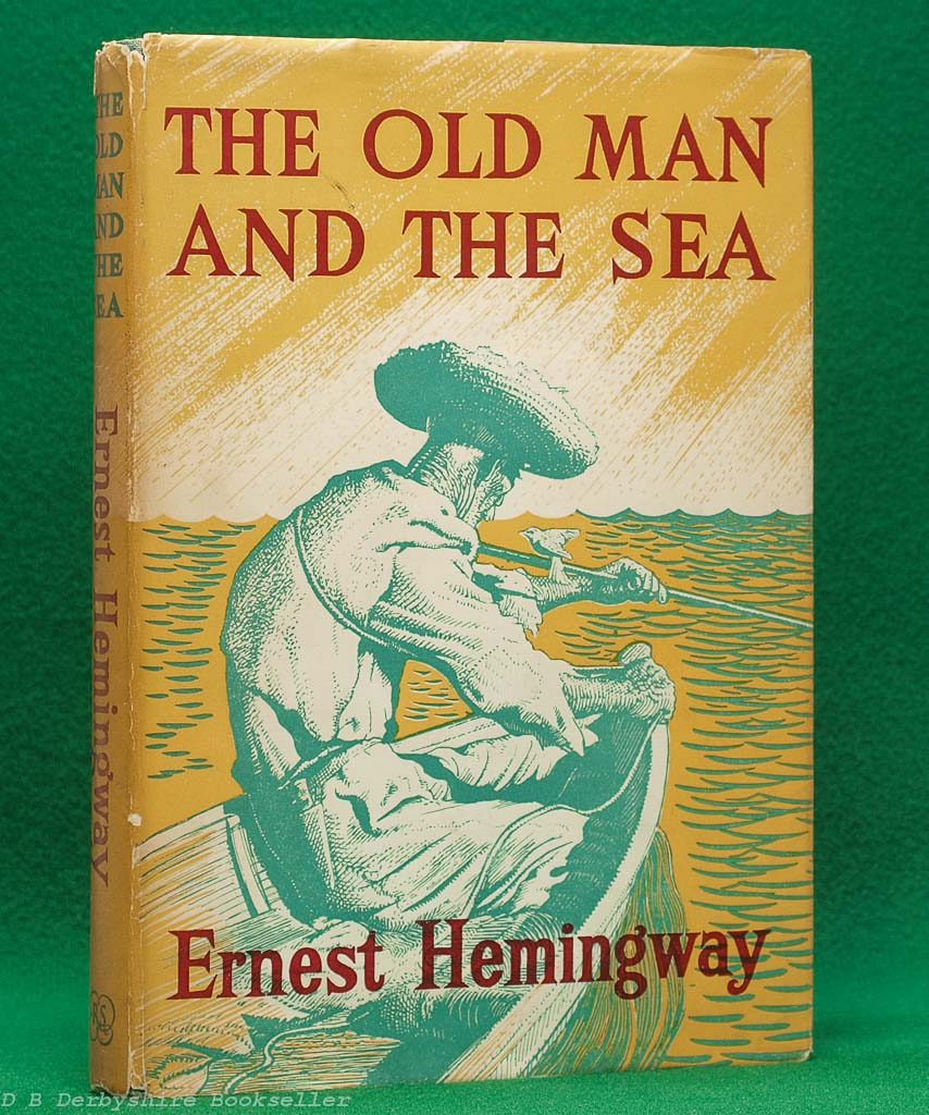 The Old Man and the Sea by Ernest Hemingway (The Reprint Society, 1953) |  C. F. Tunnicliffe and Raymond Sheppard