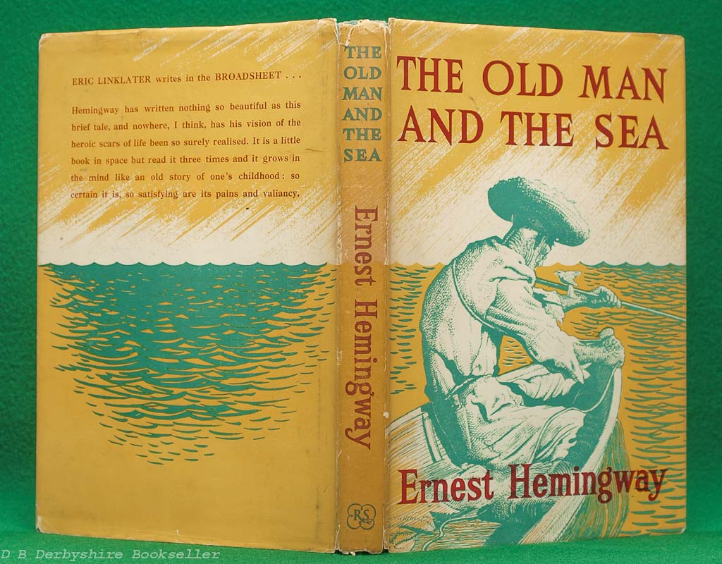 The Old Man and the Sea | Ernest Hemingway | The Reprint Society, 1953 | illustrated by C. F. Tunnicliffe and Raymond Sheppard
