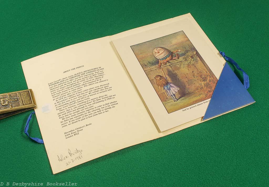 John Tenniel's Alice   Macmillan, circa 1980   16 Prints in Colour