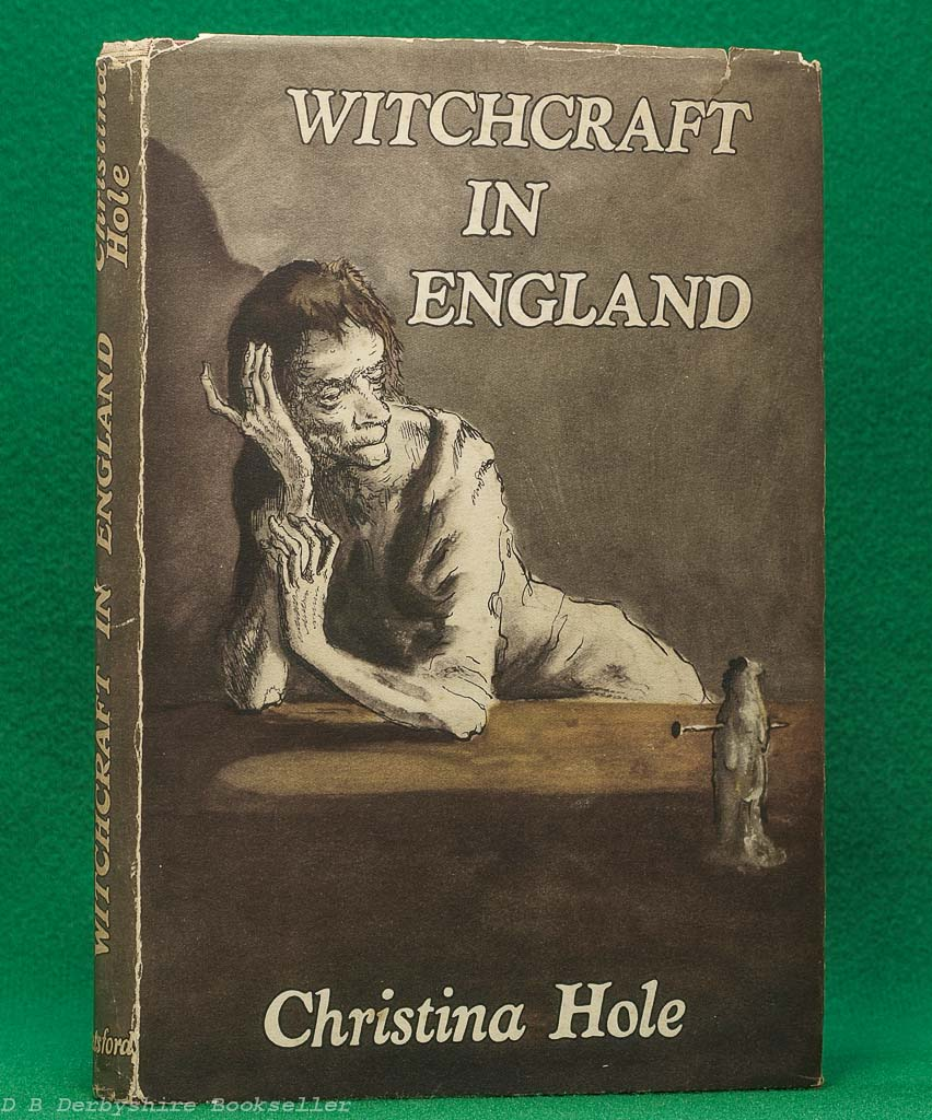 Witchcraft in England by Christina Hole (Batsford, 1945) | Mervyn Peake