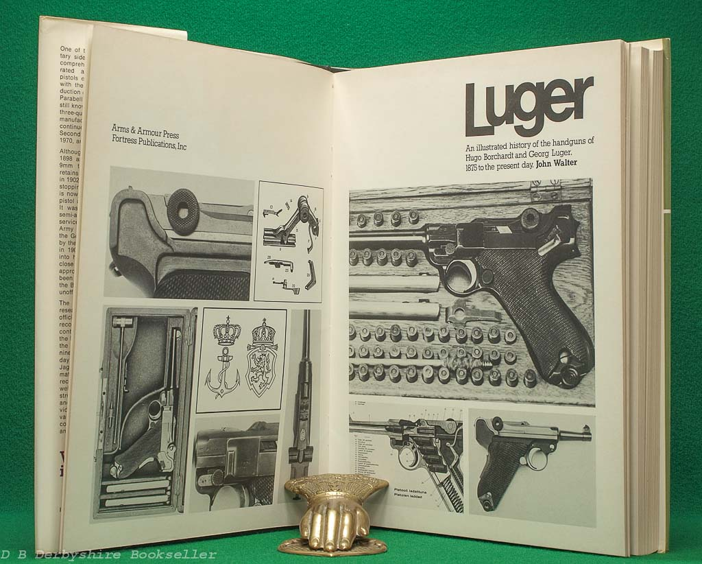 Luger | John Walter | Arms and Armour Press, 1977 | An Illustrated History