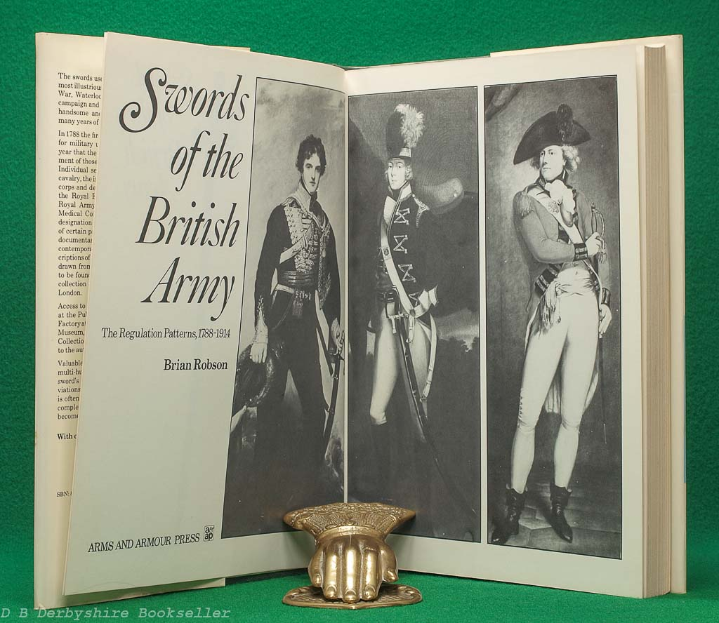 Swords of the British Army | Brian Robson | Arms and Armour Press, 1975 | The Regulation Patterns 1788-1914