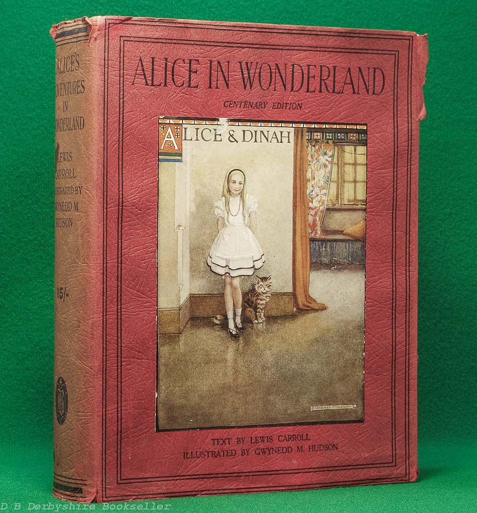 Alice in Wonderland by Lewis Carroll (Boots, [1932]) | illustrated by Gwynedd M. Hudson | with dustwrapper