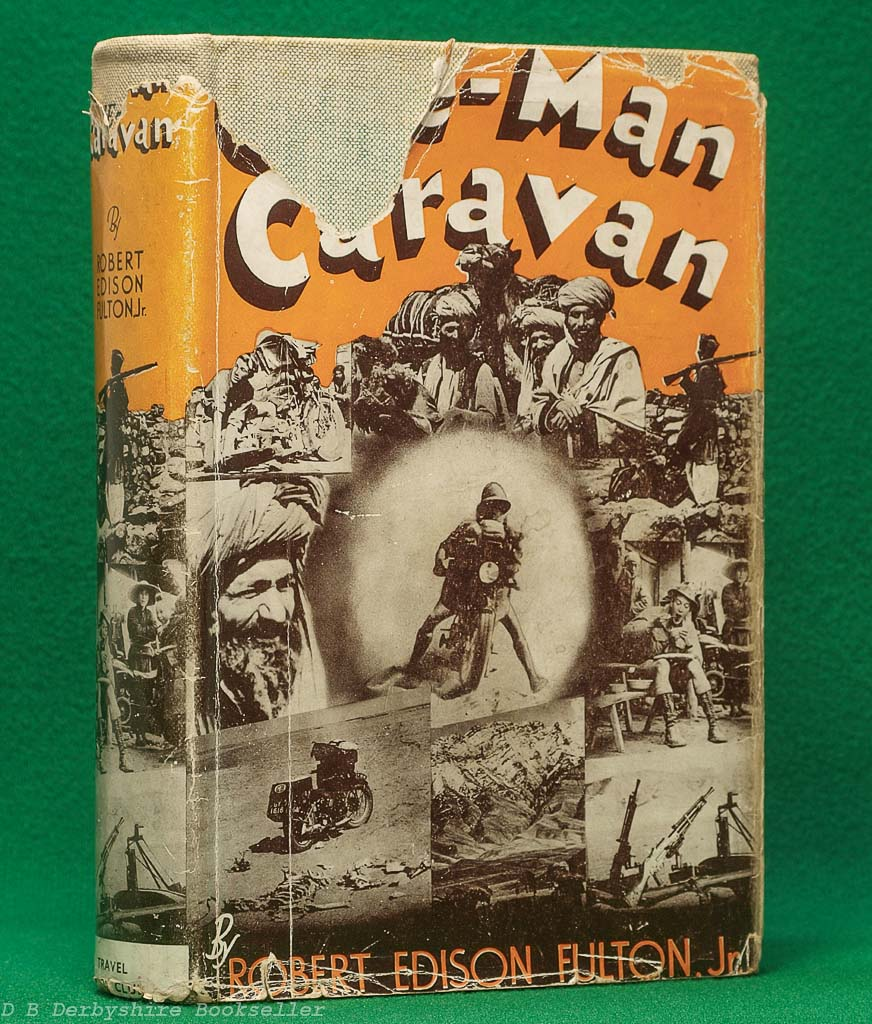 One-Man Caravan by Robert Edison Fulton (The Travel Book Club, 1939) | with dustwrapper