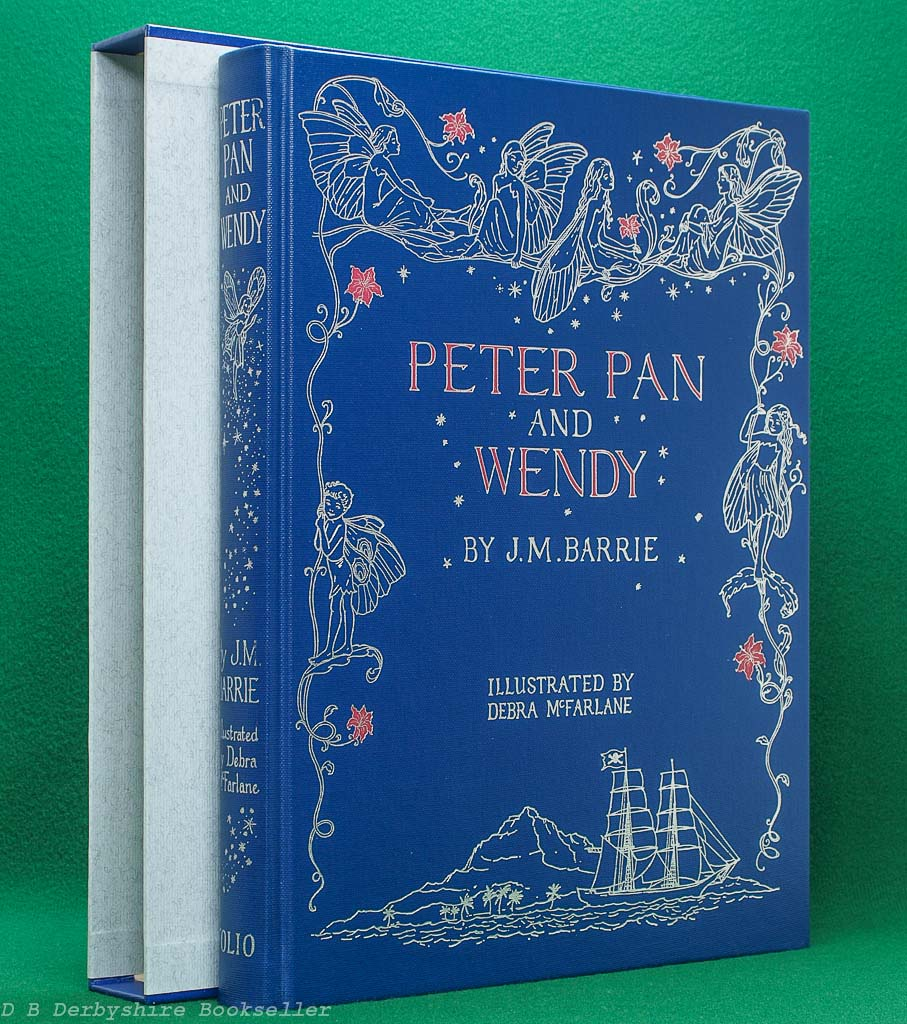 Peter Pan and Wendy by J. M. Barrie (The Folio Society, 2006) | illustrated by Debra McFarlane | with custom slipcase