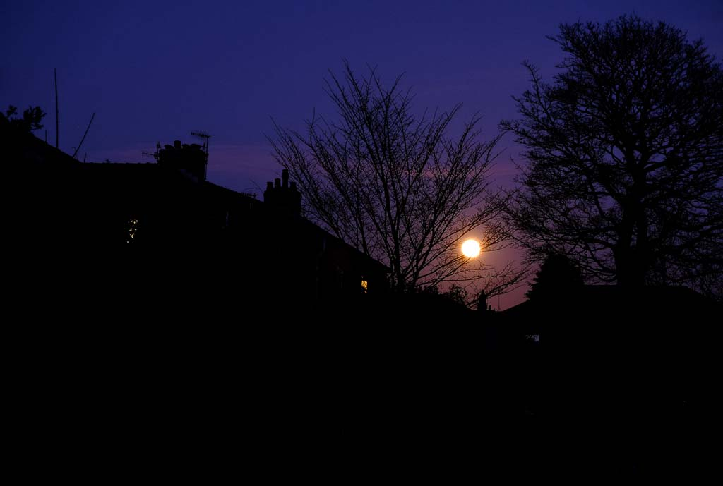 Moonrise over Stacksteads | 27 February 2021