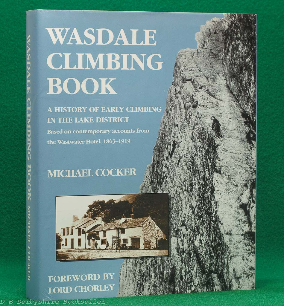 Wasdale Climbing Book | Michael Cocker | Signed Limited Edition