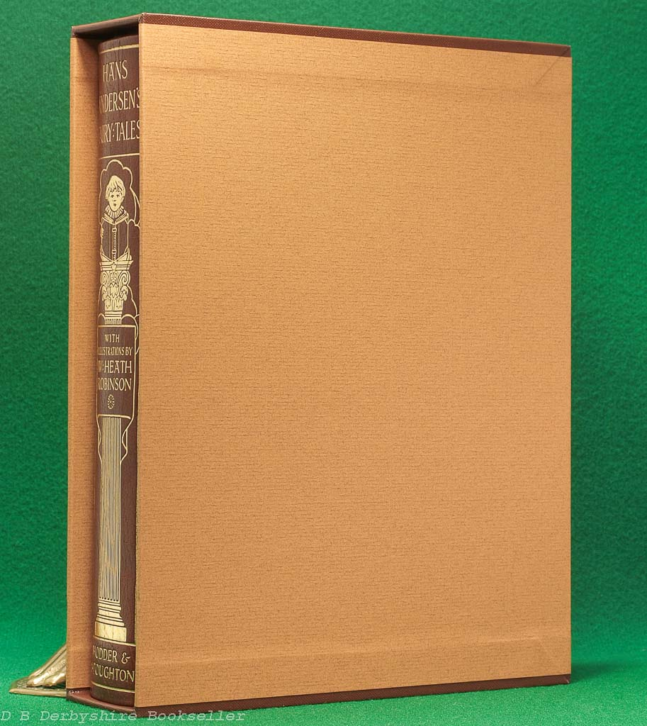 Hans Andersen's Fairy Tales | Hodder and Stoughton, facsimile 1980 | Leather Limited Edition | Slipcase