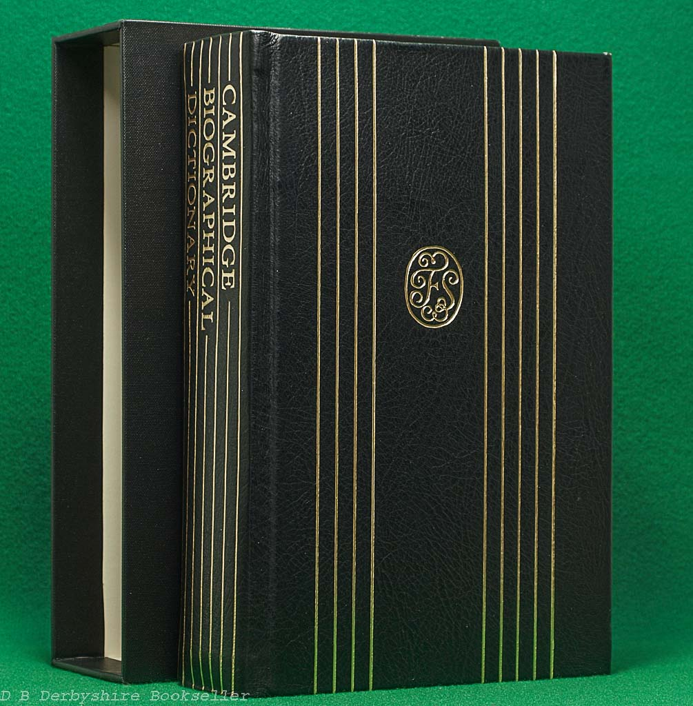Cambridge Biographical Dictionary (CUP, 1990) |Folio Society Special Publication | Chambers