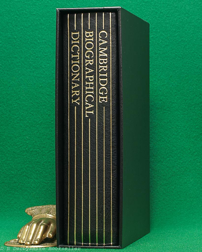 Cambridge Biographical Dictionary | Cambridge University Press, 1990 | Folio Society Special Publication