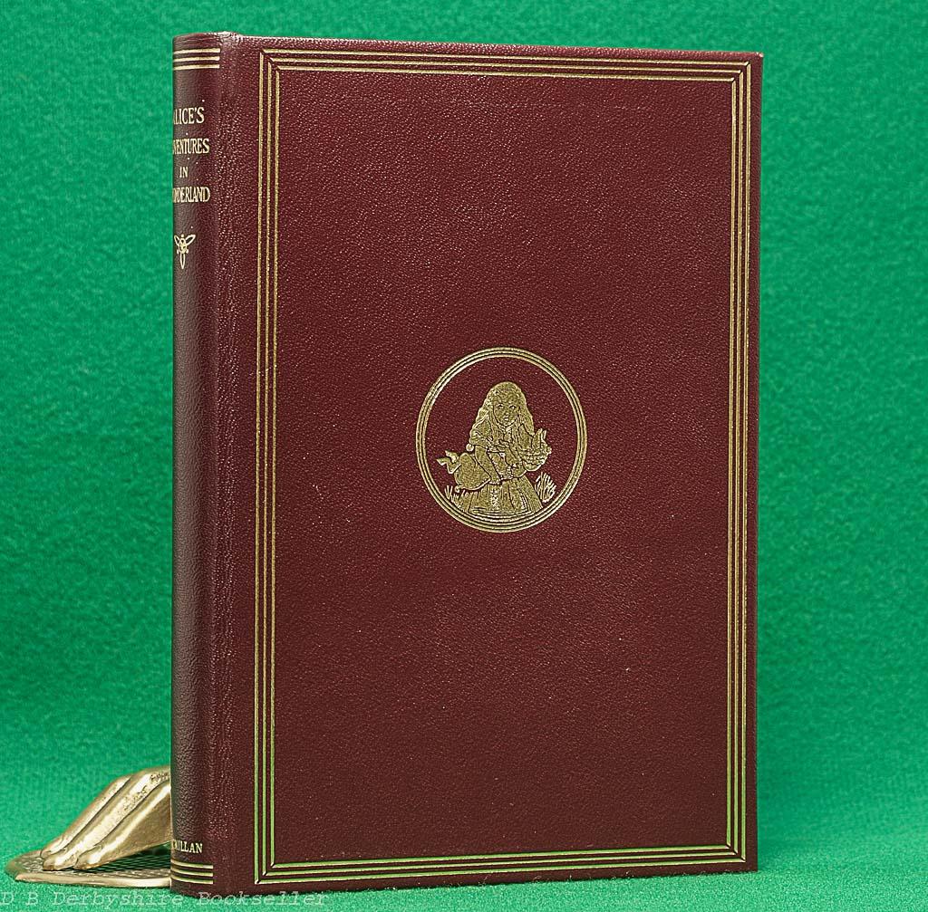Alice in Wonderland | Lewis Carroll | Macmillan, 1984 | Facsimile | Leather Binding