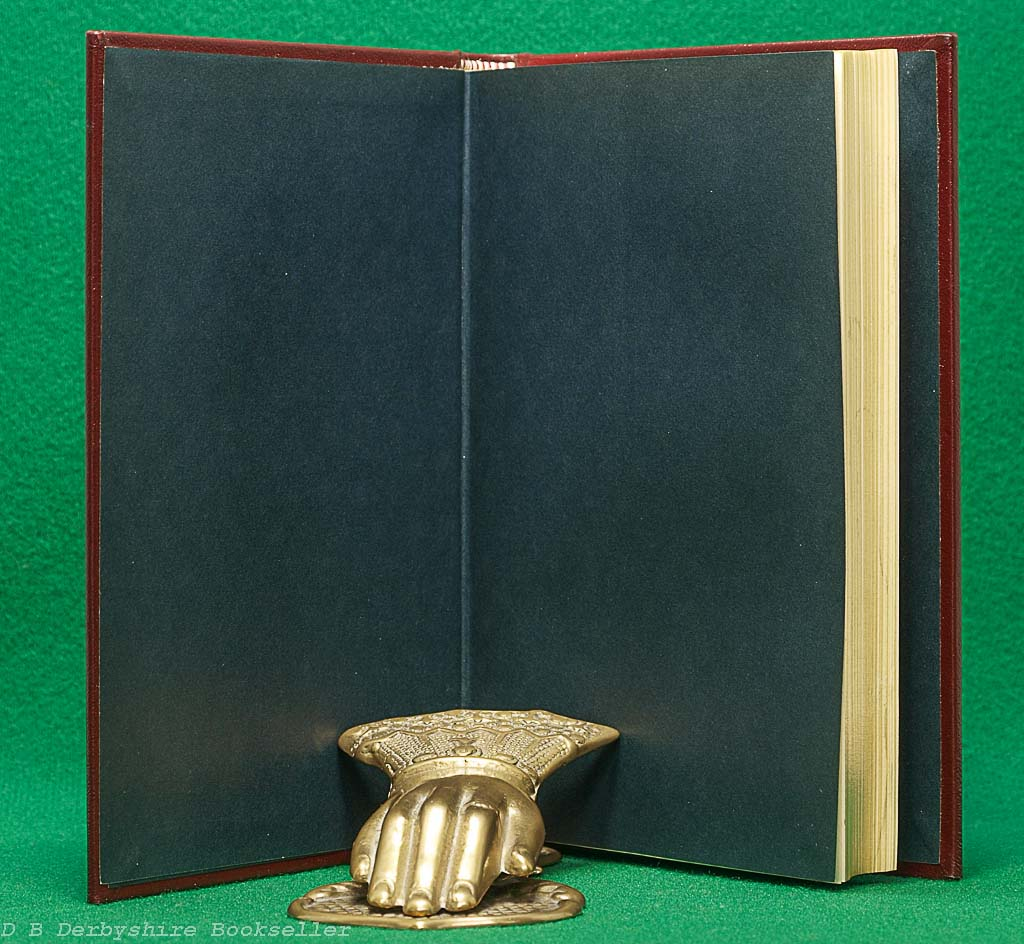 Through the Looking-Glass | Lewis Carroll Macmillan, facsimile 1984 | Leather Binding