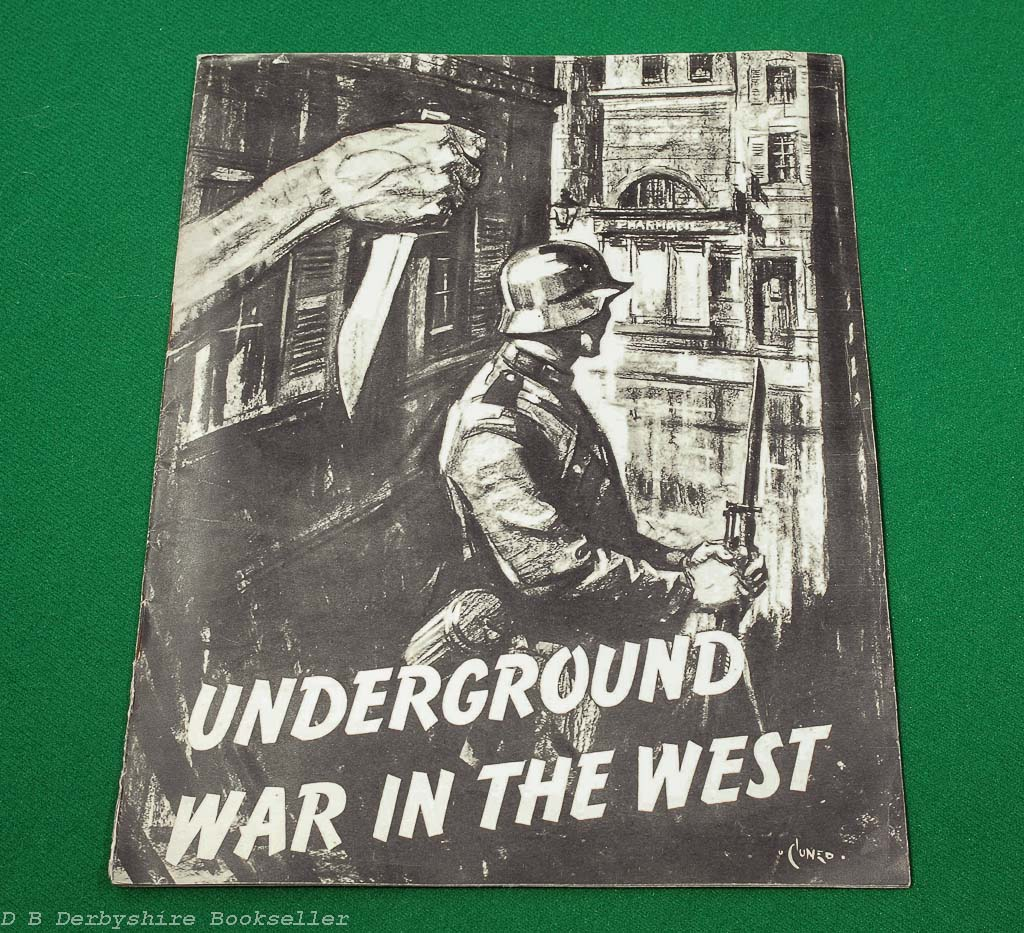 Underground War in the West ([Ministry of Information], circa 1943) | Terence Cuneo