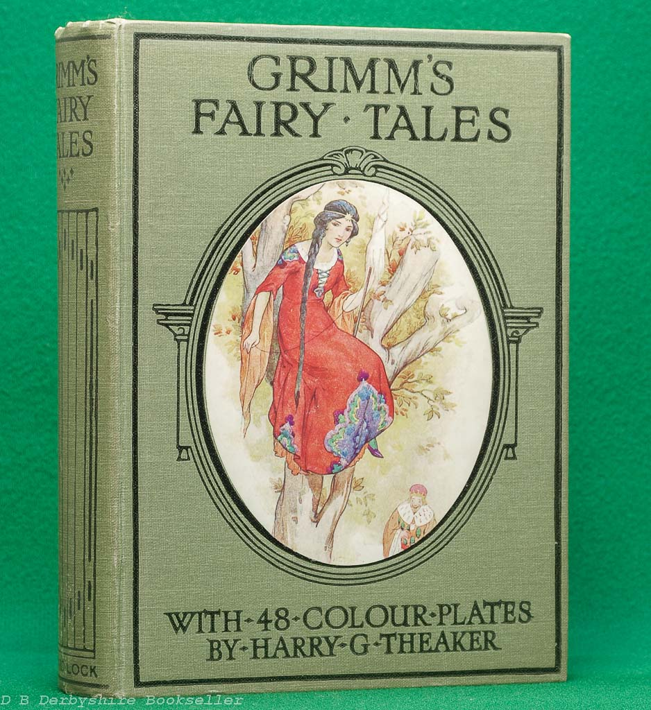 Grimm's Fairy Tales (Ward, Lock and Co. Limited, circa 1930s) | illustrated by Harry G Theaker | Prince Charming
