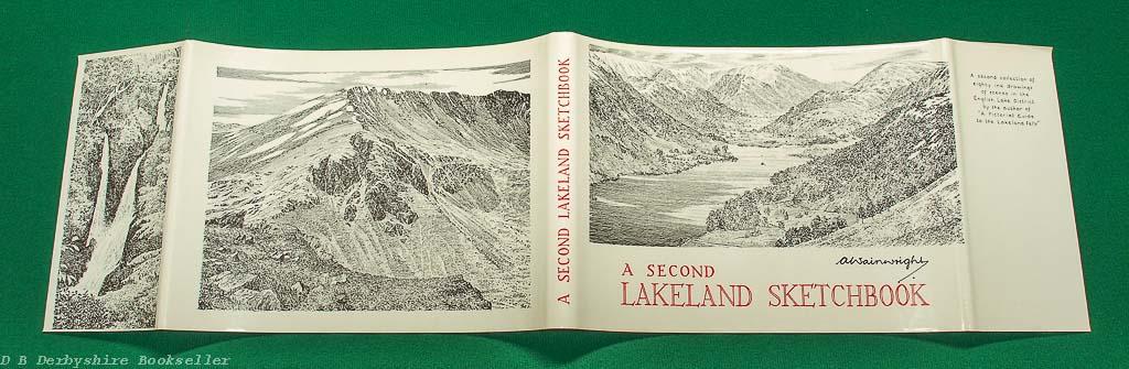 A Second Lakeland Sketchbook | A. Wainwright | Westmorland Gazette, reprint circa 1980s/90s