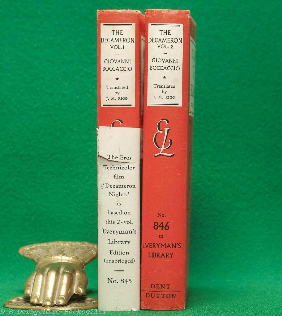 The Decameron (J. M. Dent, 1953) | Everyman's Library