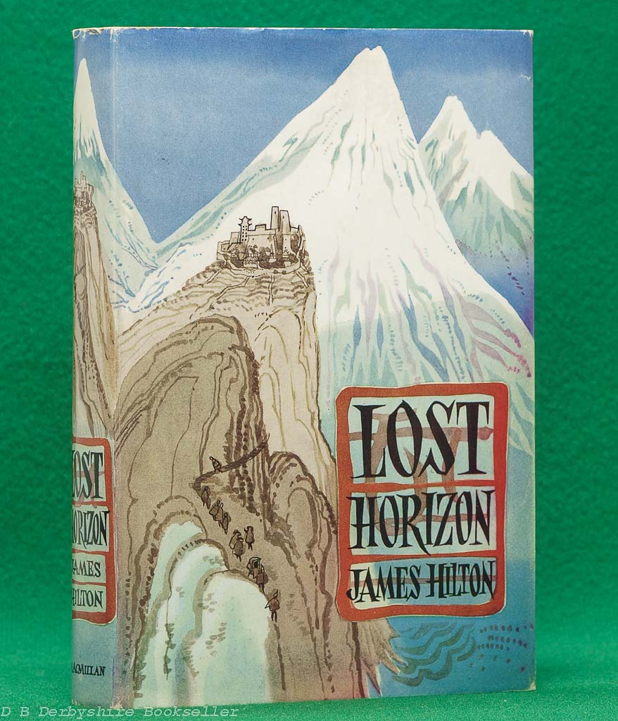 Lost Horizon by James Hilton (Macmillan, reprint 1972) | dustwrapper by Virginia Smith