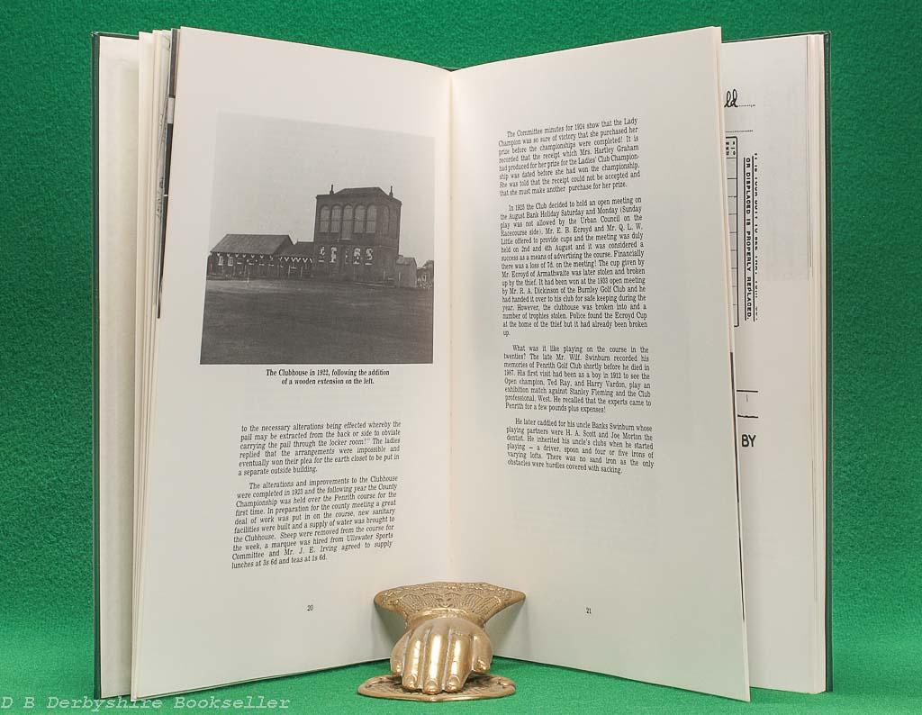 A Century of Golf - Penrith Golf Club 1890-1990 (Penrith Golf Club, 1st edition 1990)